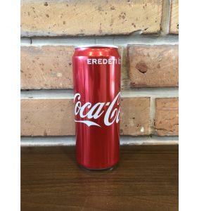 Coca cola 0.33 l dobozos