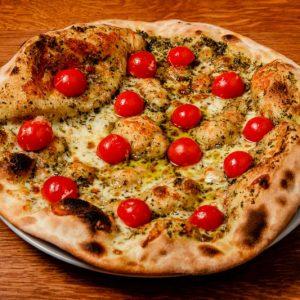 Pizza Pesto e Pomodoro